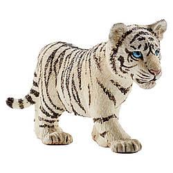 Schleich 14732 фигурка белый тигренок  Tiger Cub White
