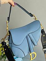 Стильна жіноча сумочка Dior SADDLE BAG (репліка), фото 1