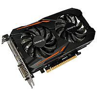 Видеокарта PCIe Nvidia GeForce GTX 1050 Ti 4GB Gigabyte GV-N105TOC-4GD rev.1.1 GDDR5 128bit DVI HDMI DP новая