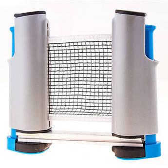 Сітка для настільного тенісу автоматична , кріплення кнопка