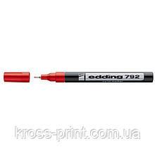 Paint Маркер e-792 0,8 мм тонкий червоний