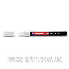 Paint Маркер e-790 2-3 мм круглий білий