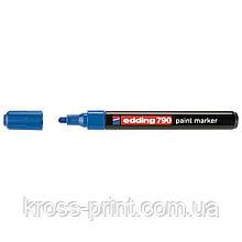 Paint Маркер e-790 2-3 мм круглий синій
