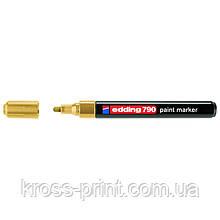Paint Маркер e-790 2-3 мм круглий золотий