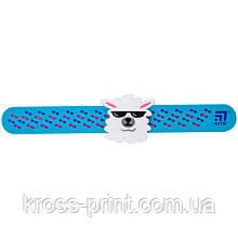 Лінійка-браслет Kite K20-018-2, з фігуркою 15 см, бірюзова