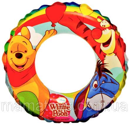 Дитячий надувний круг Вінні Пух 58228 Intex 51см