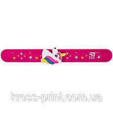 Лінійка-браслет Kite K20-018, з фігуркою 15 см, рожевий