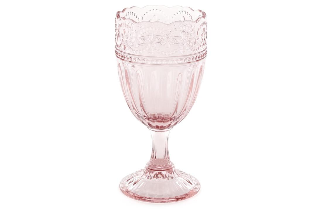 Келих для вина 300мл, колір - рожевий BonaDi 581-019