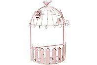 Підставка для квітів рожева металева (без декору) 27см BonaDi 490-C10