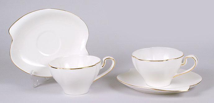 Чайны набор: 6 чашек 220мл + 6 блюдец BonaDi 222-314 ТОВАР ОТ ПРОИЗВОДИТЕЛЯ  + ПОДАРОК !