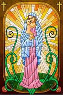 Витраж оконный - Витраж Мария и Иисус