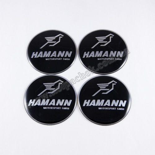 Наклейки на ковпачки BMW Hamann 56 мм