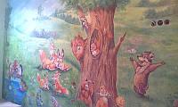 Роспись детских комнат.