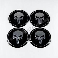 Наклейки на ковпачки The Punisher 65 мм