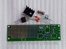 Макетна Плата + конструктор блоку живлення 2-15В, 1А