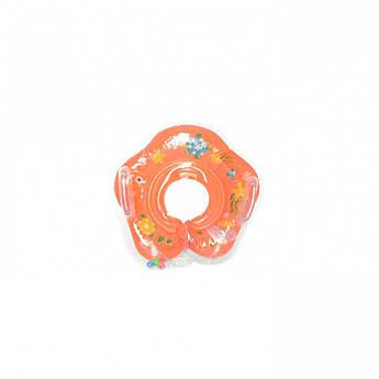 Дитяче коло для купання MS 0128 (Помаранчевий)