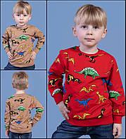 """Батник дитячий модний з принтом на хлопчика 3-6 років(5 кол) """"JUNIOR"""" купити недорого від прямого постачальника"""