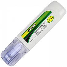 Коректор-ручка металевий наконечник 4Office 10мл 4-373