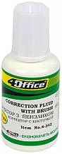 Коректор з пензликом 4Office Fluid 18мл 4-342/04130480
