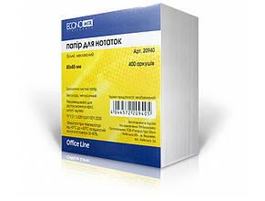 Блок для заміток неклеєний 85х85 мм 400 аркушів Economix (30) E20940