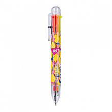 Ручка автоматична кулькова Yes Hotch Potch Lemonade 1 мм 6 кольорів (1) 412056