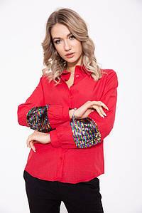 Рубашка женская 103R070 цвет Красный