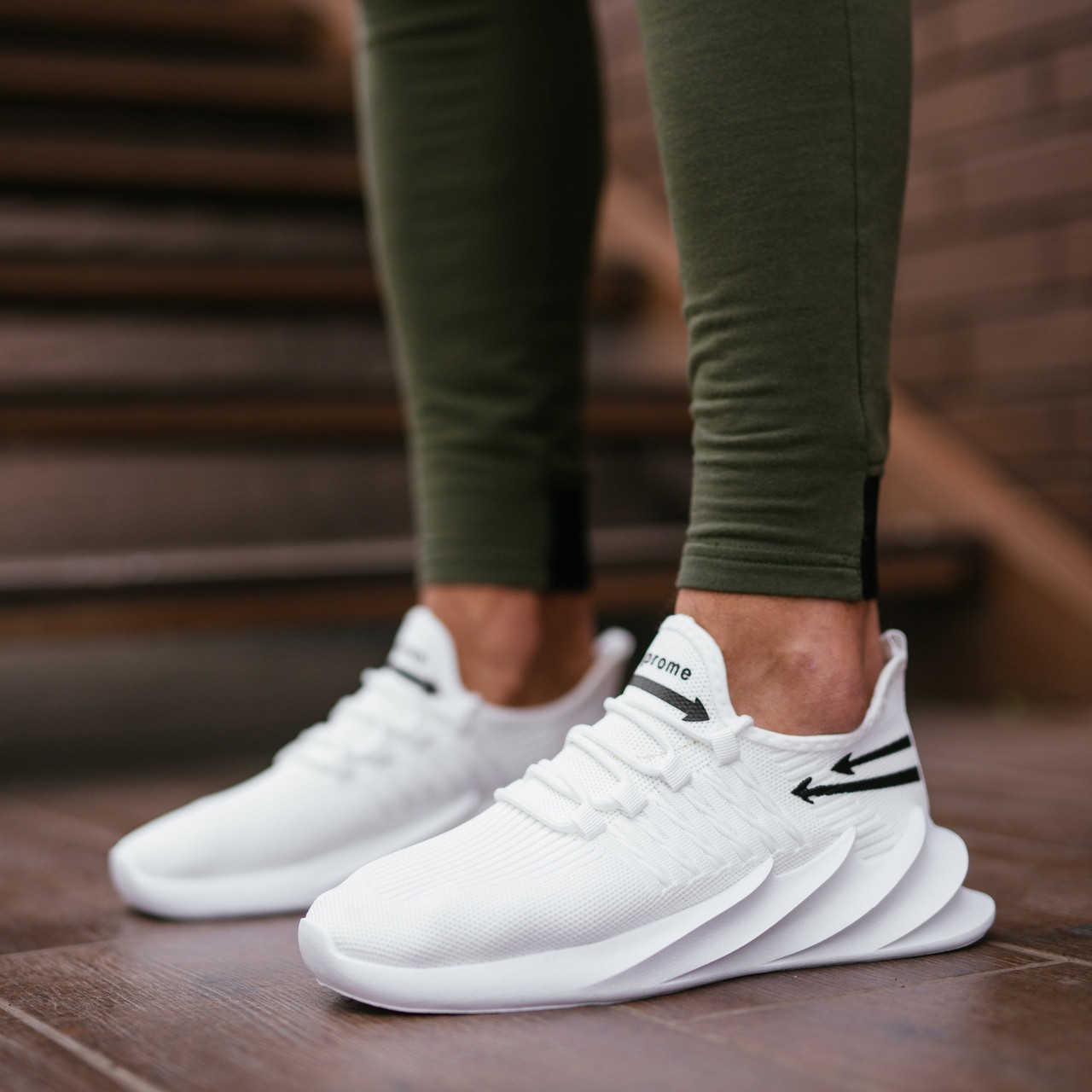 Мужские летние белые кроссовки на шнурках. Летние мужские текстильные кроссы