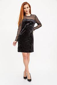 Платье женское 115R078 цвет Черный