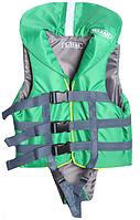 Универсальный страховочный жилет 0-15 кг цвет зеленый, материал нейлон Vulkan (VU4160GR)
