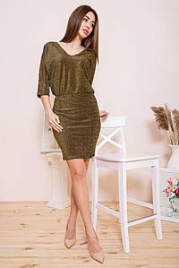 Платье женское 115R169 цвет Золотистый
