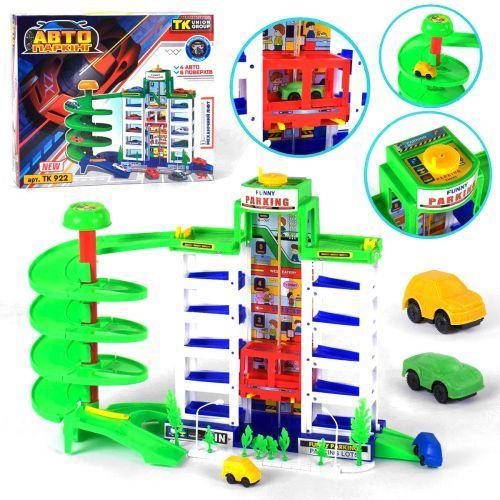 Ігровий набір іграшка паркінг з ліфтом, TK922