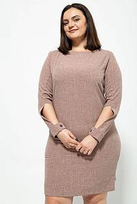 Платье 102R083 цвет Коричневый