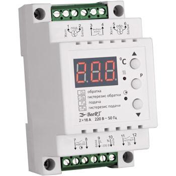 Терморегулятор Beert для ТЭНовых и электродных котлов