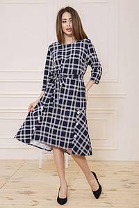 Платье 150R665 цвет Сине-белый