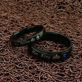"""Парные кольца для влюбленных """"Хранители Интриги"""" [жен. 18.2 муж. 21.5 22.3 размеры в наличии]"""