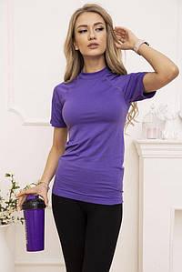 Футболка спорт.женская 117R127 цвет Фиолетовый