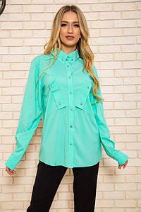 Рубашка женская  102R140 цвет Мятный