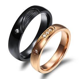 """Кольца для влюбленных """"Хранители Света"""" [жен. 18.2 муж. 20.0 размеры в наличии]"""