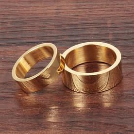 """Парные кольца """"Американка"""" [жен. 15.9 17.3 муж. 17.3 18.2 размеры в наличии]"""