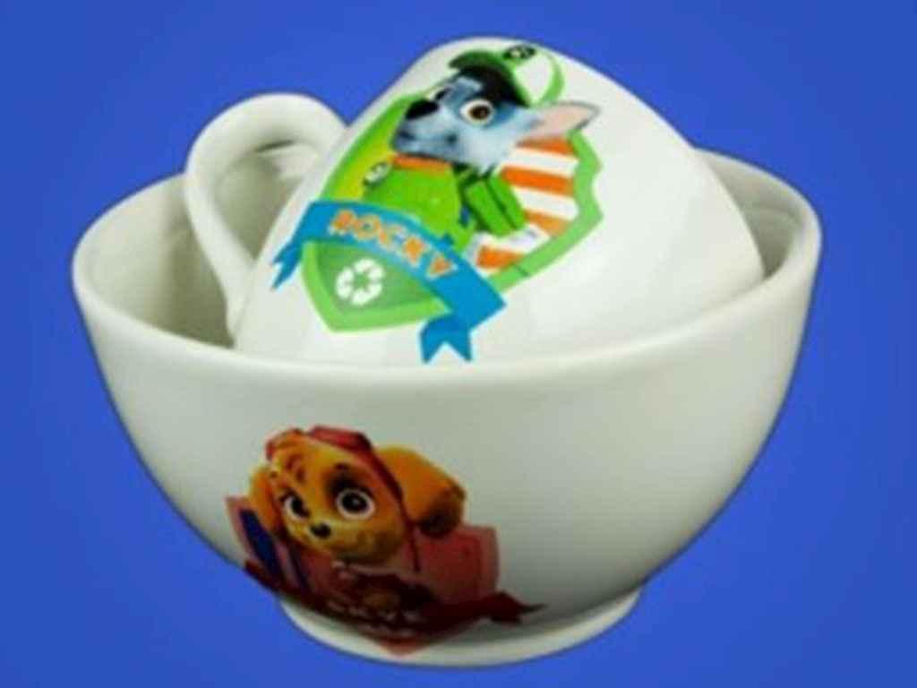 Набор детской посуды Авангард Щенячий патруль 2 предмета