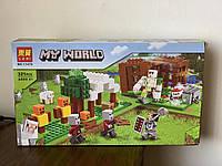 Конструктор лего Майнкрафт 321 деталей железный голем Lego Minecraft