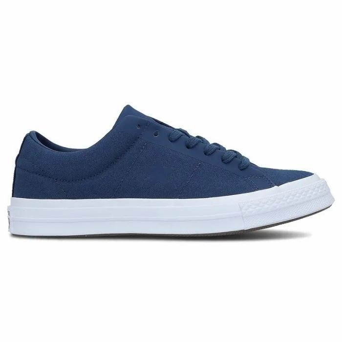 Кеды мужские Converse One Star OX синие 163368C