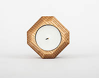 Подсвечник для чайной свечи из дерева (ясень)