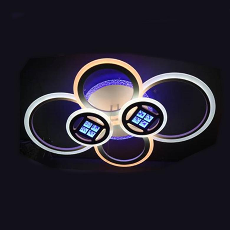 Люстра LED 05-70535/4+2 WH 208W
