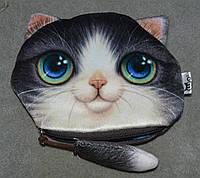 Кошелек котик с хвостиком