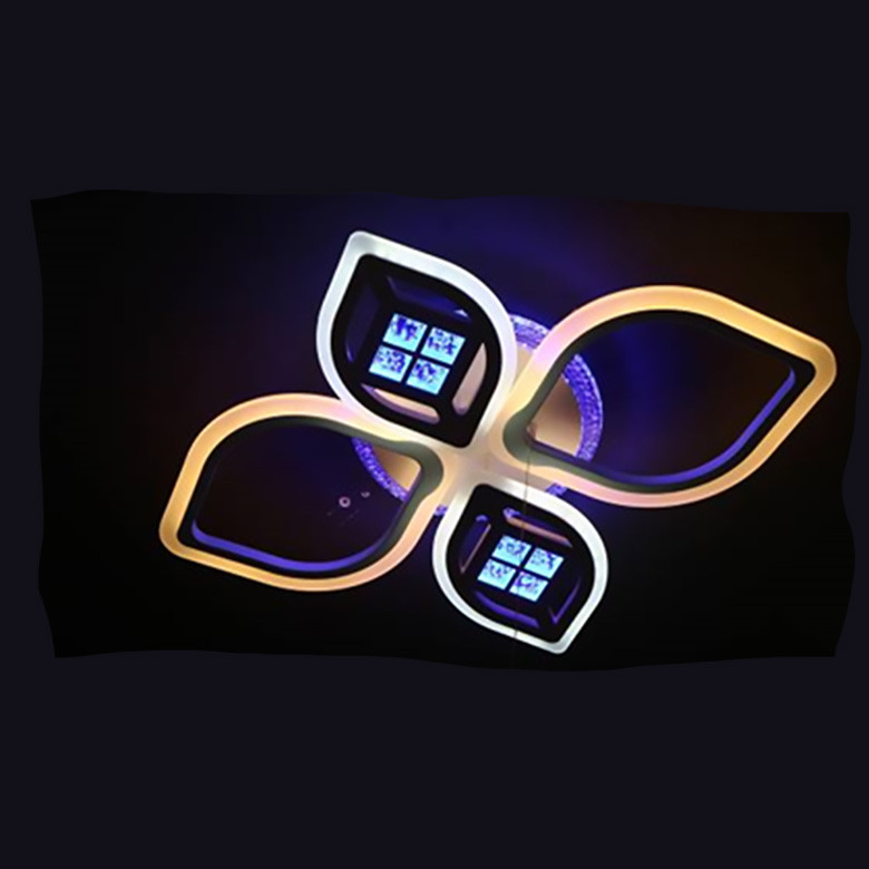 Люстра LED 05-70545/2+2 BK 104W