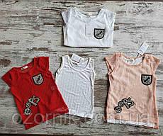Оптом набор футболка + майка 5-8 лет Турция