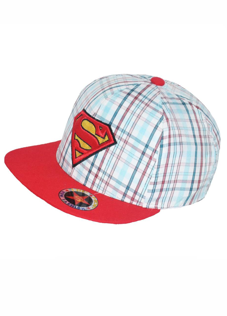 Кепка реперка хлопчикові з логотипом Супермен
