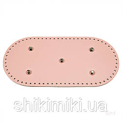 Дно сумки з ніжками (30*15 см), колір рожева пудра