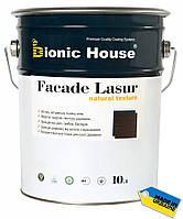 "Фасадная краска для дерева ""Bionic House"" 10 л"